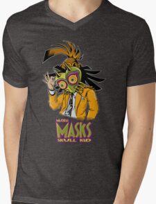 LINK THE MASK Mens V-Neck T-Shirt