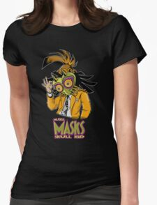 LINK THE MASK Womens Fitted T-Shirt