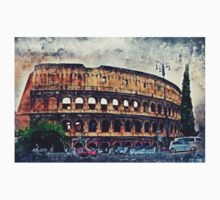 Colosseum Rome Baby Tee
