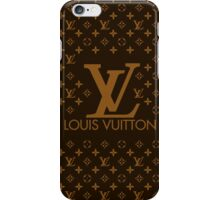 Louis Vuitton Brown Pattern iPhone Case/Skin