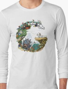 G - Tribute to Ghibli Long Sleeve T-Shirt