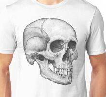 Human Male Skull Unisex T-Shirt