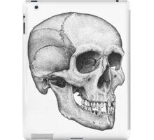 Human Male Skull iPad Case/Skin
