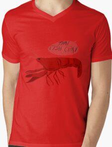 That Fish Cray Mens V-Neck T-Shirt