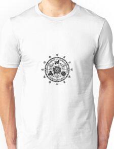 Zelda Time Portal Gate Minimal Design Skyward Sword White Version Unisex T-Shirt