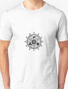 Zelda Time Portal Gate Minimal Design Skyward Sword White Version T-Shirt