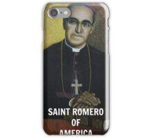 SAINT ROMERO OF AMERICA iPhone Case/Skin