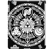 Zelda Time Portal Minimal Design Skyward Sword Black Version iPad Case/Skin