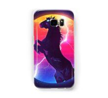 black horse Samsung Galaxy Case/Skin
