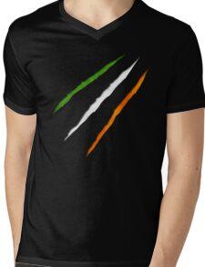 Ireland Flag Mens V-Neck T-Shirt