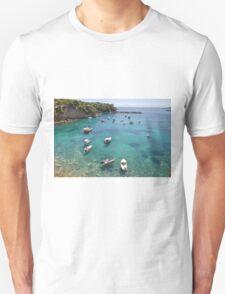 Votsi harbour, Alonissos T-Shirt