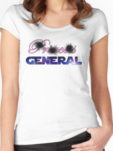 Not Princess, General Women's Fitted Scoop T-Shirt