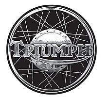 Triumph Motorcycles England Photographic Print
