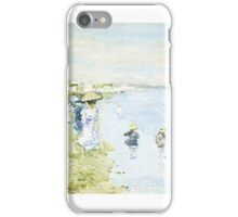 MAURICE BRAZIL PRENDERGAST, - ), REVERE BEACH, BOSTON iPhone Case/Skin