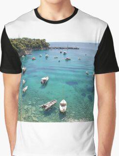 Votsi boats, Alonissos Graphic T-Shirt