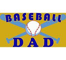 Baseball dad Photographic Print
