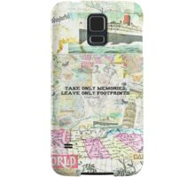 Travel Chief Seattle inspirational ecology quote Samsung Galaxy Case/Skin