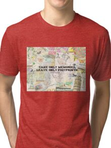 Travel Chief Seattle inspirational ecology quote Tri-blend T-Shirt