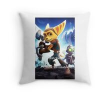 Ratchet & Clank Remastered Throw Pillow
