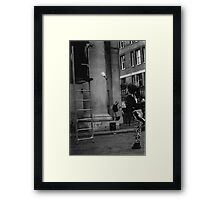 Street Photography - Covent Garden Framed Print