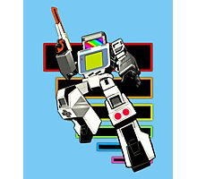 Gamebot Retro Photographic Print