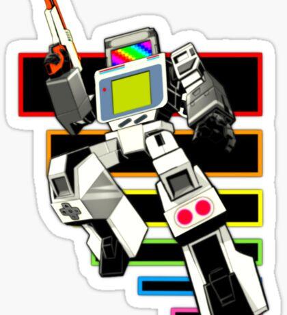 Gamebot Retro Sticker
