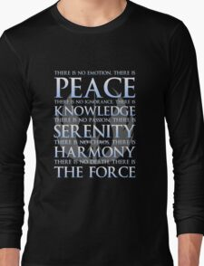 The Jedi Code Long Sleeve T-Shirt