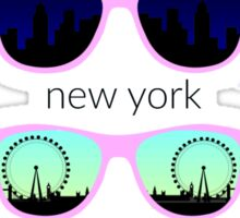 sunglass city Sticker