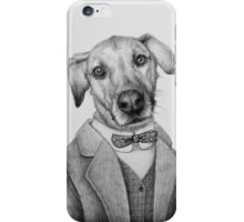 dog portrait iPhone Case/Skin