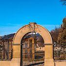 Old School Arch, Wild Horse Plains, Montana by Bryan D. Spellman
