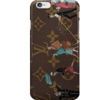 Louis Vuitton Monogram Illustre Turquoise iPhone Case/Skin