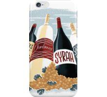 Wine, glorious wine! iPhone Case/Skin
