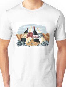 Wine, glorious wine! Unisex T-Shirt