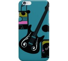 rock and roll mix tape iPhone Case/Skin