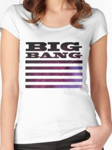 Big Bang Made Concept 3 Women's Fitted Scoop T-Shirt