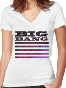 Big Bang Made Concept 3 Women's Fitted V-Neck T-Shirt