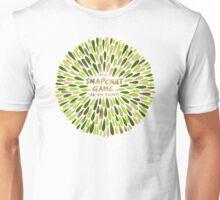 Snapchat – Green & Gold Unisex T-Shirt