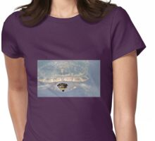 What A Face--Turtle Emerging From Lake in Jamaica Womens Fitted T-Shirt