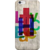 Helvetichroma iPhone Case/Skin