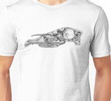 Woodcut Horse Skull Unisex T-Shirt