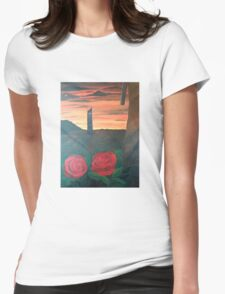 Dark Tower Womens Fitted T-Shirt