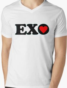 ♥♫I Love EXO Fabulous K-Pop Clothes & Stickers♪♥ Mens V-Neck T-Shirt