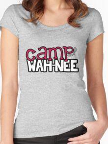 Camp Wah-Nee Zip Code Women's Fitted Scoop T-Shirt