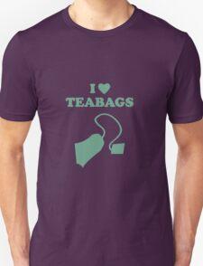 I love Teabags Unisex T-Shirt