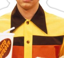 Eric Forman Fatso Burger Employee Sticker