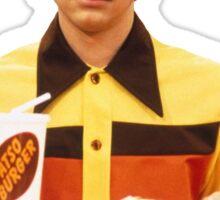 Eric Forman Fatso Burger Employee Sticker