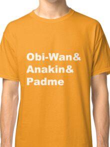 The Prequel Trio Classic T-Shirt