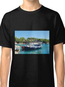 Votsi fishing boats, Alonissos Classic T-Shirt