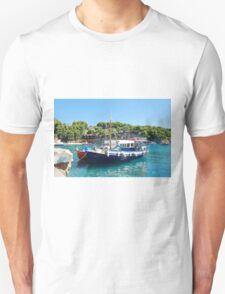 Votsi fishing boats, Alonissos T-Shirt