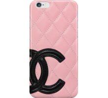 Chanel Black Pink Wallet iPhone Case/Skin
